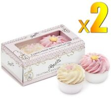 2x Rose & Co Set of 2 Hand Made Bath Tartlettes Delectable Bath Confection No.84