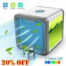 USB Air Conditioner Fan Mini Cool Bedroom Desk Portable Cooler Cube Water