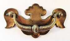 "Brass Colonial Chippendale Batwing Drawer Pull Antique Hardware 3""center"