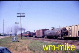 #079 - IC Illinois Central passenger train in Jackson MS ORIGINAL slide