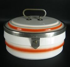 Theodor Paetsch Art Deco Keramik Dose Spritzdekor 20er 30er Jahre Pottery Box