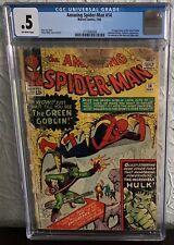 AMAZING SPIDER-MAN #14 CGC 0.5 1964 1ST APPEARANCE OF THE GREEN GOBLIN MARVEL