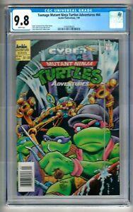 "Teenage Mutant Ninja Turtles Adventures #64 (1995) CGC 9.8  WP  ""NEWSSTAND"""
