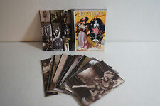 THE ART OF BURLESQUE (Cult-Stuff/2013) Trading Card Set (27) + 10 CHASE CARDS