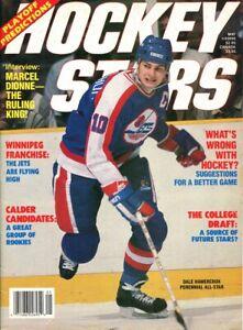 May 1987 Hockey Stars Magazine Dale Hawerchuk Winnipeg Jets Rare Vintage