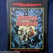 Reverse Dungeon Advanced Dungeons & Dragons Adventure Module D&D RPG TSR11392