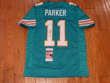 Devante Parker Signed Dolphins Custom Jersey Size XL JSA