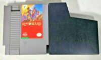Legacy Of The Wizard Nintendo NES Authentic Game Cartridge - Tested FREE SHIP!