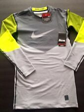NIKE PRO DRI-FITMAX COMPRESSION HYPER WARM SERIES SHIRT FOR MEN'S839105 SIZE  L