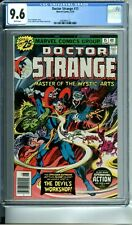DOCTOR STRANGE 15 CGC 9.6 WHITE PAGES MASTER OF THE MYSTIC ARTS NEW CGC CASE