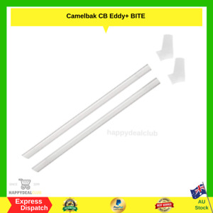 CamelBak Eddy+ PLUS Bottle Replacement Bite Valves and Straws - Clear NEW