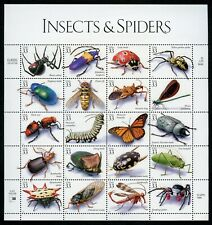 US Scott 3351 Insects and Spiders Sheet od 20 Mint NH