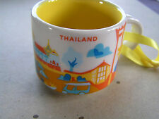 THAILAND STARBUCKS 2oz you are here collection mug  new with box