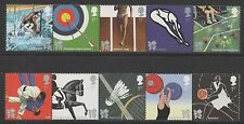 Gb Olímpico 2009 & Juegos Paralímpicos de Londres 2012 1st ISS Menta desmontado Set De Sellos
