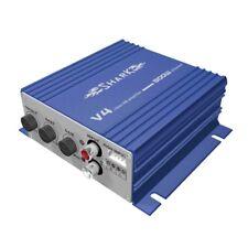 Shark 2 Kanal Verstärker Endstufe 800 Watt V4 Blau 2-Kanal Hi + LOW Input RCA