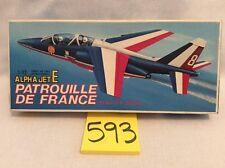 Fujimi Alpha Jet E Patrouille de France 1/72 Model Airplane Vintage, Parts! #593