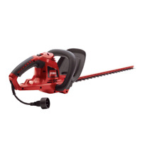22 in 4 Amp Electric Hedge Trimmer Cord-Lock Dual Action Corded Cutting System