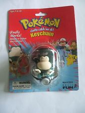 Pokémon #143 Snorlax Poke Ball Keychain Factory Sealed Action Figure Toy Go Ash