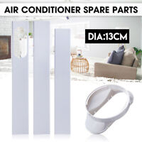 Window Adaptor + 2/3PCS Slide Kit Plate 67.5-190cm For Portable Air Conditioner