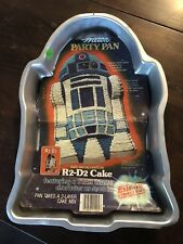 Vintage WILTON CHARACTER CAKE PAN R2-D2 STAR WARS 1980  BIRTHDAY PARTY HTF