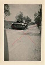 Deutsche Wehrmacht WW2 Photo Technik Panzer Tank  Polen Polska