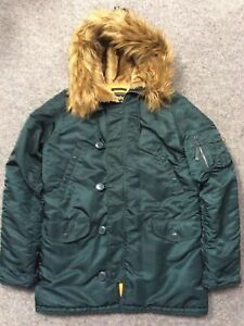 Alpha Industries N-3B Cold Weather Parka - Large