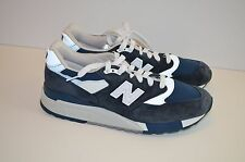MSRP 180 NWOB New Balance for J.Crew 998 Blue Size 10 US Suede USA Midnight Moon