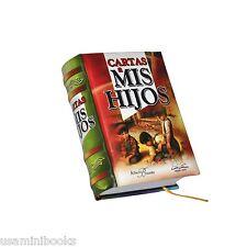New miniature book in Spanish Cartas a mis Hijos Hardbound 100% readable