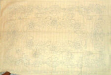 507 SULTANA Pattern Hook Rug Foundation  Not worked on yet (24 x 36 final size)