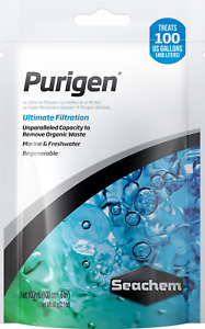 Seachem Purigen 100ml 60g Filter Bag Remove Waste Marine Freshwater Clear Water