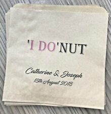 Personalised Wedding Donut Wall Bags