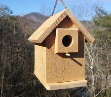 Solid Wood Cedar Bird House
