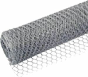 SILVER CHICKEN RABBIT PET HUTCH POULTRY COOP FENCING WIRE - 13MM KINGFISHER