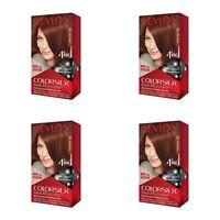 Lot of 4 Revlon Colorsilk Permanent Hair Color 31 Dark Auburn Ammonia Free