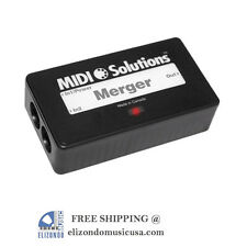 Midi Solutions Merger 2x1 MIDI Merger Interface Box