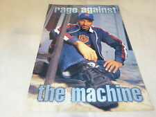RAGE AGAINST THE MACHINE - Mini poster couleurs !!!