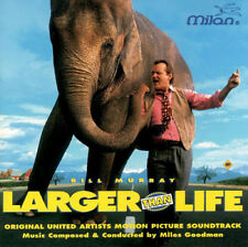 Larger Than Life - Soundtrack CD Bill Murray - Very Rare! Out Of Print *UNPLAYED