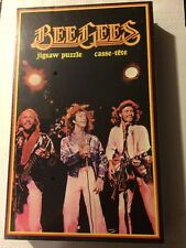 Vintage 200-Piece BeeGees Jigsaw Puzzle W/ Cassette 1979 - Sealed EX!!!