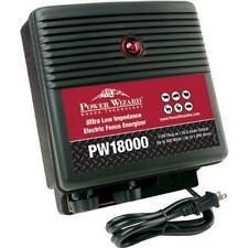Pw18000 Power Wizard Electric Fence Energizer Charger 110v Plug In 18 Joule Ou