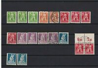 GERMANY  BAVARIA 1920 OVERPRINTS MOUNTED MINT & USED STAMPS REF R520