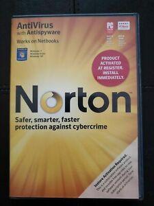 Norton Antivirus with Antispyware For Windows 7,Vista,XP-Trojans (2010) w/key