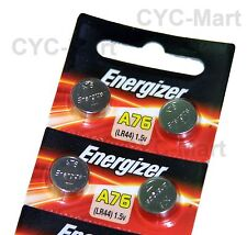 Energizer LR44  AG13  A76 Batteries x 4 pcs, Original Packing FREE POST