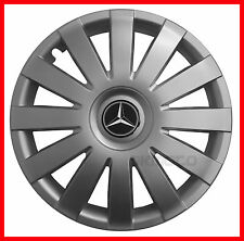 "14''  Hub caps Wheel trims fit MERCEDES 4x14""  - silver"