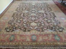 8 x 10 Top Quality Veg Dye Indo Caucasian Heriz Serapi Ushak Antique Design