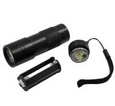 UV Ultra Violet 12 LED 395nM Flashlight Blacklight Light Inspection Lamp Torch