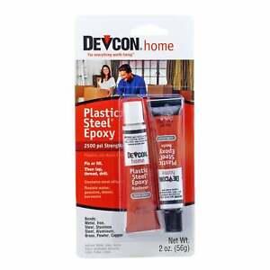 Devcon 52345 Plastic Steel Cold Welding Epoxy Adhesive 56 g (2 oz)