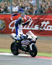Cal Crutchlow - 2010 World Superbike Championship Autographed 16 x 12 Picture.