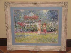 """C. James Frazier """"Rose Gardens"""" Limited Edition Framed Print"""