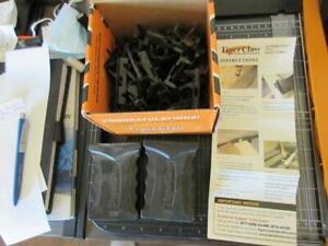 TC-3 Tiger Claw Hidden Deck Fasteners TREX Composite New 93 Pcs and 2 Blocks