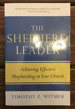 """Pastoring book - """"The Shepherd Leader� by Timothy Witmer - Good Condition!"""